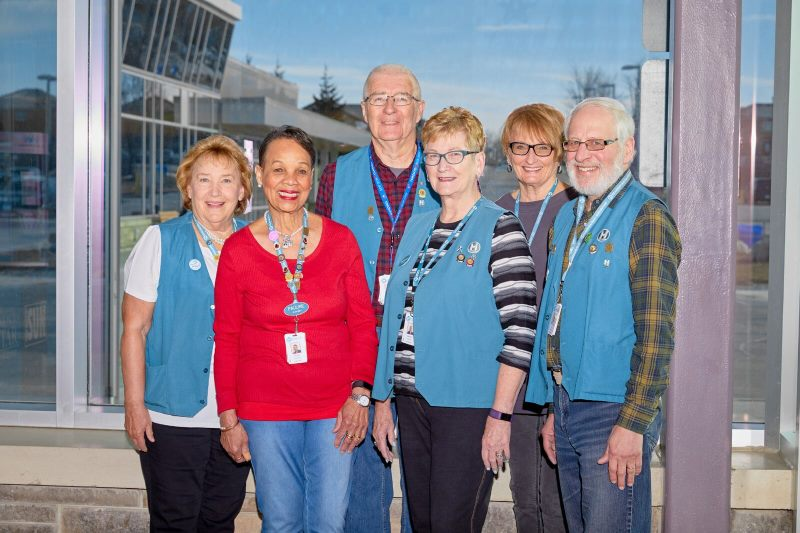 Members of Headwaters Health Care Centre's Auxiliary