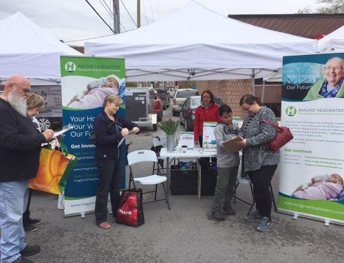 Orangeville Farmer's Market conversations